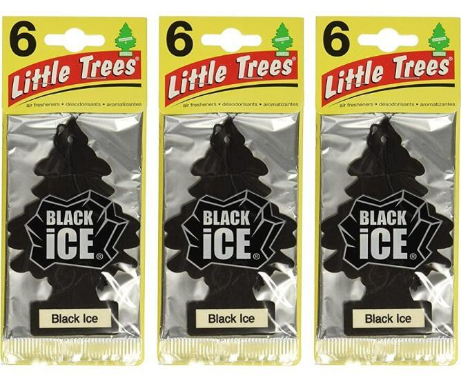 Little-Trees-Black-Ice-Air-Freshener 10 Best Car Air Fresheners for Car in 2021